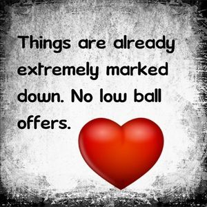 Denim - No low ball offers